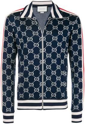 Gucci GG web sweat-jacket