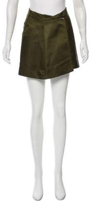 Haute A-Line Mini Skirt