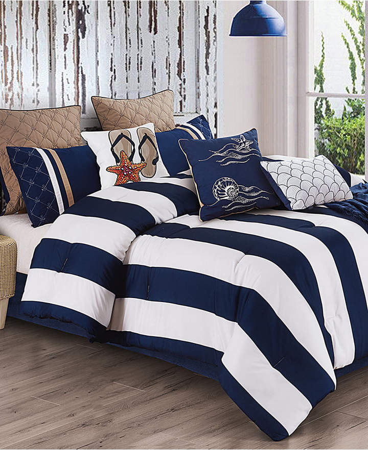 Hallmart Collectibles Copa 10-Pc. Full Comforter Set Bedding