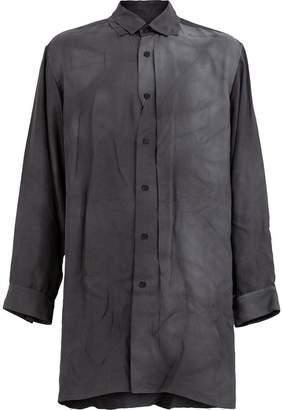 Yohji Yamamoto long length shirt