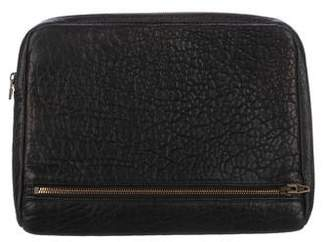Alexander Wang Leather Travel Clutch
