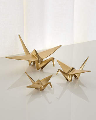 Origami Crane with Pointe Back