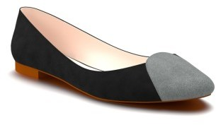 Women's Shoes Of Prey Loafer Ballet Flat $139.95 thestylecure.com