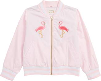 J.Crew crewcuts by Daisy Satin Bomber Jacket