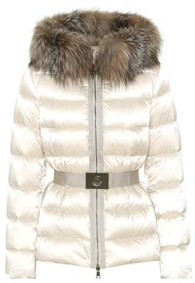 ... Moncler Tatie fur-trimmed down jacket