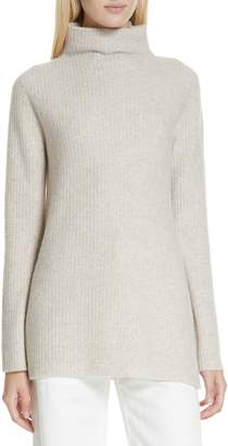 Vince Cashmere Funnel Neck Tunic Sweater