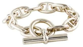Hermes Very Large Chaîne d'Ancre Bracelet