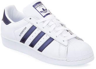 outlet store 1e197 53896 at Neiman Marcus. adidas Superstar Lace-Up 3-Stripes 174 Sneakers
