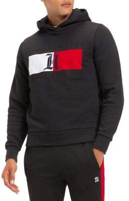 Tommy Hilfiger X Lewis Hamilton Colourblock Flag Fleece Hoodie
