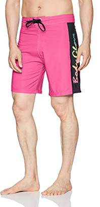 Body Glove Men's Vapor Lazer Zapp 4-Way Stretch 19 inch Boardshort Swim Trunk