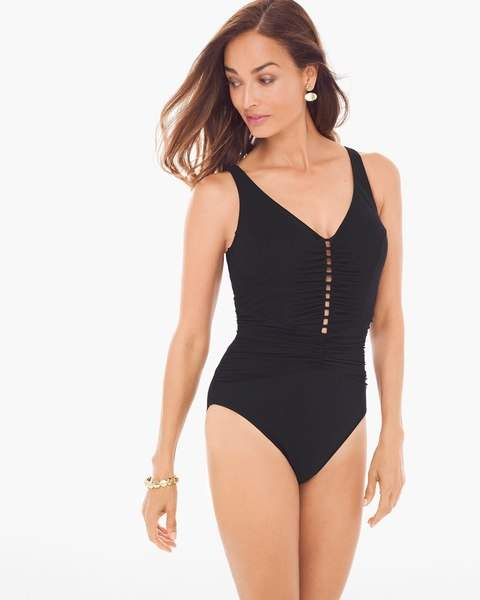 Chico'sCocktail Party One-Piece Swimsuit