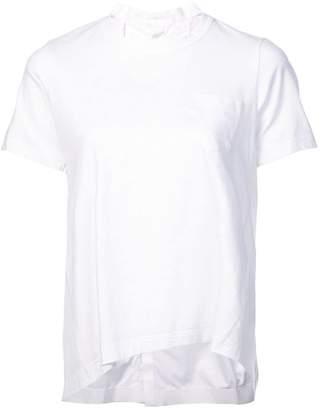 Sacai crew neck T-shirt