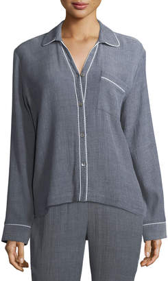 Skin Delaney Long Sleeve PJ Top