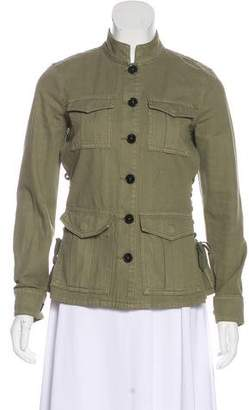 Tory Burch Lightweight Button-Up Jacket