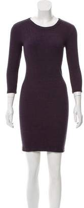 Enza Costa Long Sleeve Knit Dress