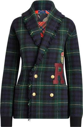 Ralph Lauren Double-Breasted Wool Cardigan