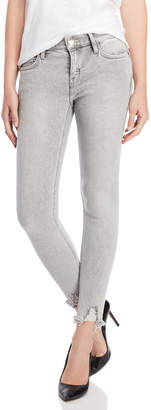 Current/Elliott Astor Punk Hem Stiletto Skinny Jeans