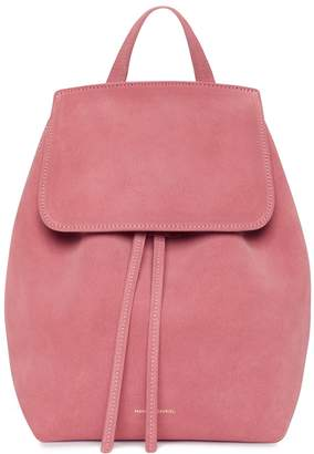 Mansur Gavriel Suede Mini Backpack - Blush