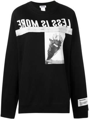 Brognano Less is More sweatshirt
