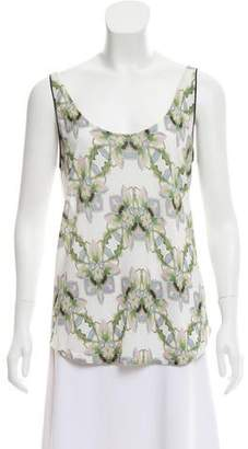 Schumacher Sleeveless Floral Print Top w/ Tags