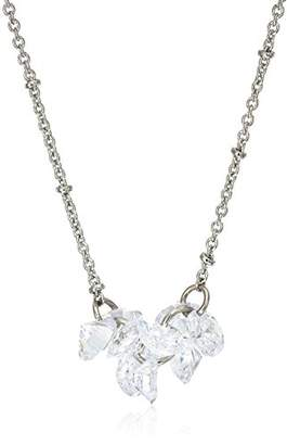 lonna & lilly Fashion -Tone/Cubic Zirconia Cluster Pendant Necklace