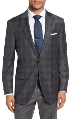 Men's Peter Millar Flynn Classic Fit Plaid Wool Sport Coat $595 thestylecure.com
