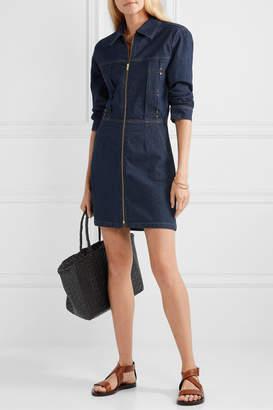 Frame Denim Mini Dress - Dark denim