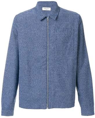 YMC lightweight textured shirt jacket