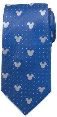 Cufflinks Inc. Cufflinks, Inc. Mickey Mouse Pin Dot Silk Tie