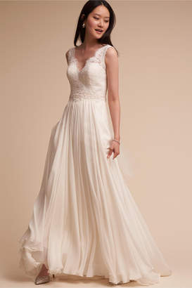 4b10022df Corset Top Dresses Style. Corset Top Wedding Dress. Corset Top Wedding Dress  With Flower Detail 229. Pin It Bhldn Havana Corset Top Anika Tulle Skirt 2