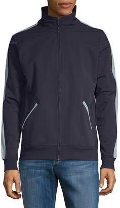 Sovereign Code Men's Goods Rib-Trimmed Full Zip Jacket