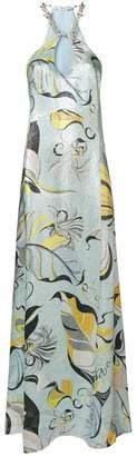 Emilio Pucci lurex lead print dress