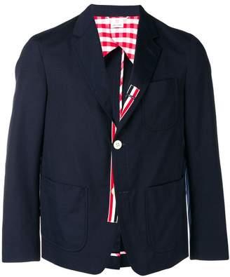 Thom Browne Typewriter Cloth Sack Sport Coat