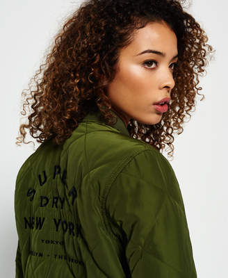 Superdry Quilted Utility Bomber Jacket
