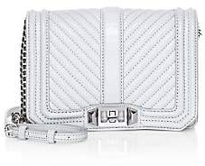 Rebecca Minkoff Women's Small Quilted Chevron Leather Crossbody Bag