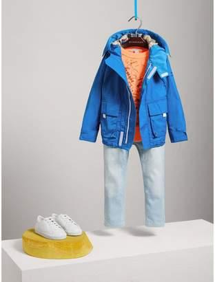 Burberry Hooded Shape-memory Taffeta Field Jacket