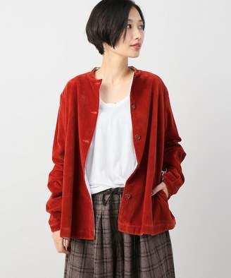 Journal Standard (ジャーナル スタンダード) - journal standard luxe 【Khadi & Co/カディ&コー】 Collarless Jacket(Velvet)◆