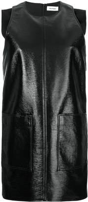 Courreges patent shift dress