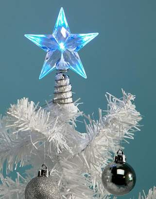 Paperchase Holidays multi light tree topper decoration
