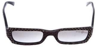 CAViAR Snakeskin Strass Sunglasses
