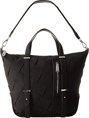 Steve Madden Bsydneyy Woven Satchel Bag $59.99 thestylecure.com