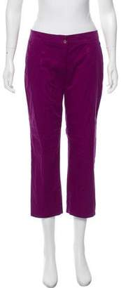 Etro Cropped Mid-Rise Pants