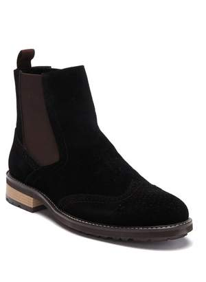 English Laundry Chester Suede Wingtip Chelsea Boot