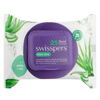 Alöe Swisspers Naturals Skin Perfecting Facial Wipes 25 wipes