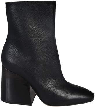 Maison Margiela Asymmetric Heel Ankle Boots