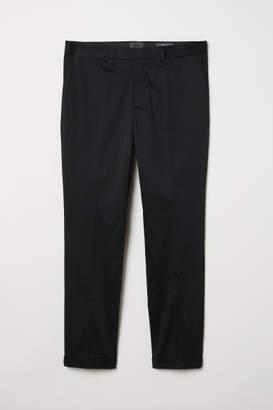 H&M Skinny Fit Chinos - Black