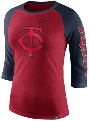 Nike Women's Minnesota Twins Triblend Tee