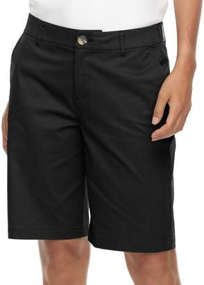 Croft & Barrow Women's Twill Bermuda Shorts