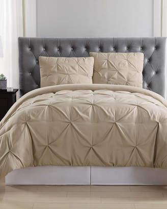 Truly Soft Pleated Khaki Duvet Set