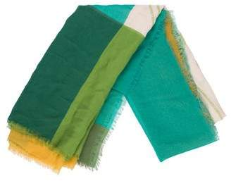 Burberry Silk Print Scarf